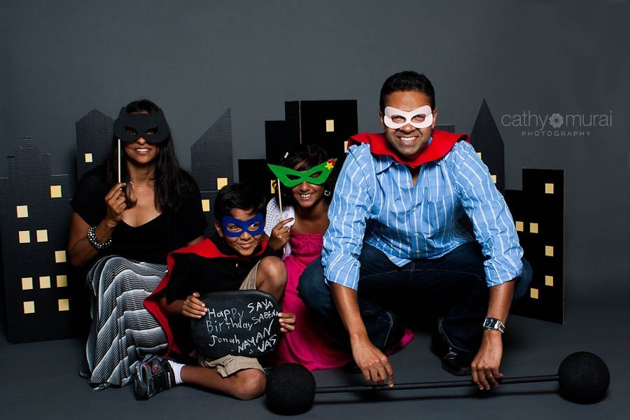 Superhero Photobooth super hero photo booth