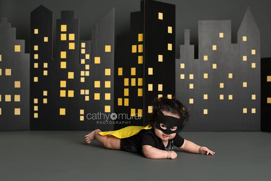 batman baby shower theme baby batman flying in front