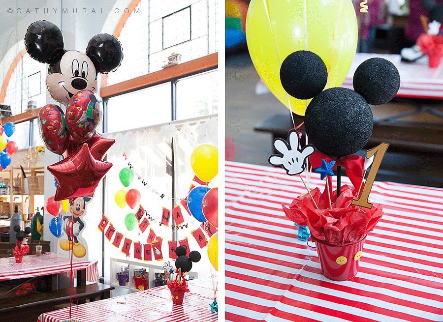 Mickey Mouse Themed 1st Birthday Party |Los Angeles Birthday Party ...