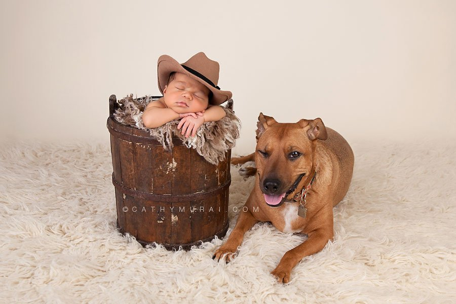 Newborn baby boy wearing a cow boy hat posing in the antique bucket next to his family dog, newborn and dog photography, newborn and dog picture, newborn and dog portrait, newborn and dog photo, baby and dog photography, baby and dog picture, baby and dog image, baby and dog portrait, newborn and pet photography, newborn and pet picture, newborn and pet image, newborn and pet portrait, dog winking, philippino newborn baby, mexican newborn baby, best newborn photographer,Los Angeles newborn baby photographer,Los Angeles newborn baby photography,famous baby photographer,famous newborn photographer,los angeles newborn photographer,los angeles newborn photography,los angeles newborn photographer,los angeles newborn photography,los angeles twin newborn photographer,los angeles twin newborn photography,newborn photo shoot los angeles,newborn photographer los angeles,newborn photographer alhambra,newborn photography los angeles, premier newborn photographer, Pasadena newborn baby photographer,Pasadena newborn photographer,San Gabriel Valley newborn photography,San Gabriel Valley newborn photographer,Alhambra newborn photography,top newborn photographer, Las Tunas newborn photography,Las Tunas newborn photographer, Cathy Murai Photography, newborn and sibling photographer, newborn and sibling photography, newborn and sibling pictures, newborn and sibling photos newborn and sibling pictures, Mother and newborn photography, newborn posing
