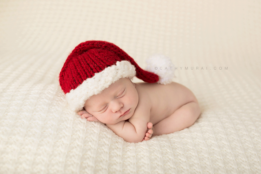 Newborn santa newborn with santa hat newborn baby wearing santa hat christmas newborn