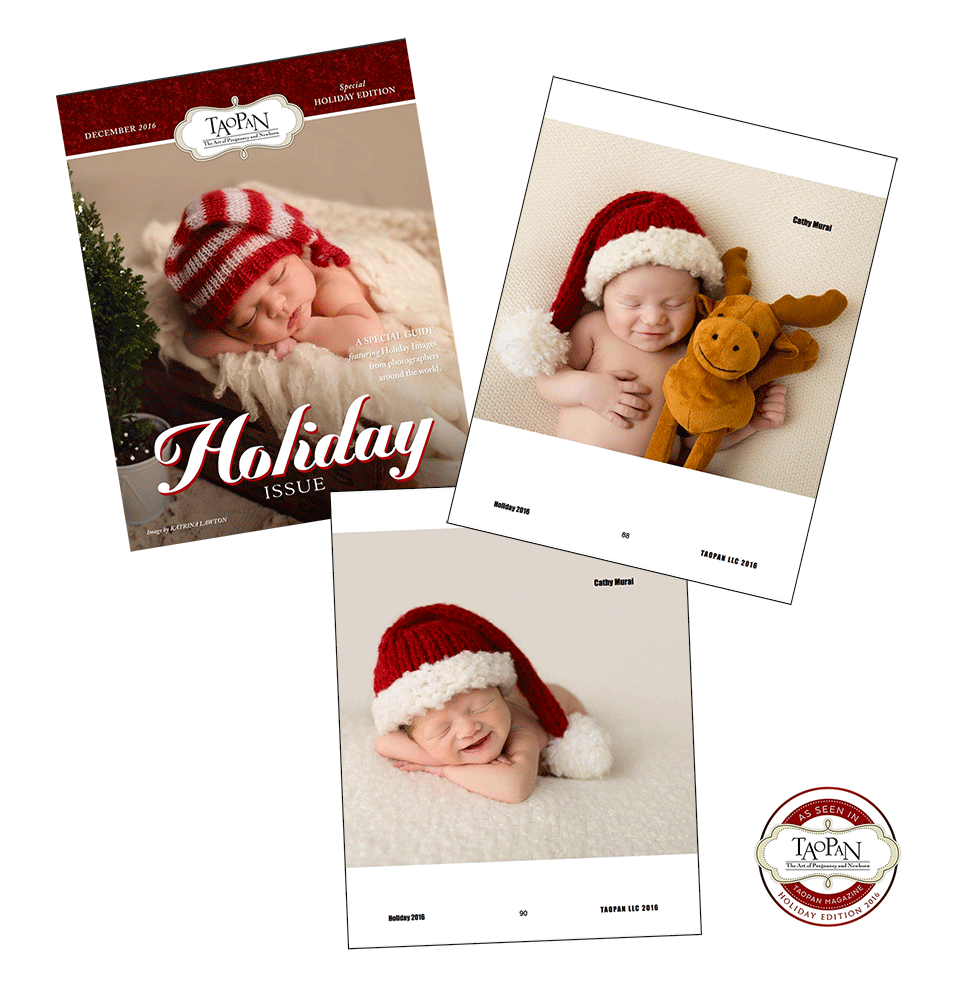 Featured and Published on Taopan Magazine - Holiday issue 2016