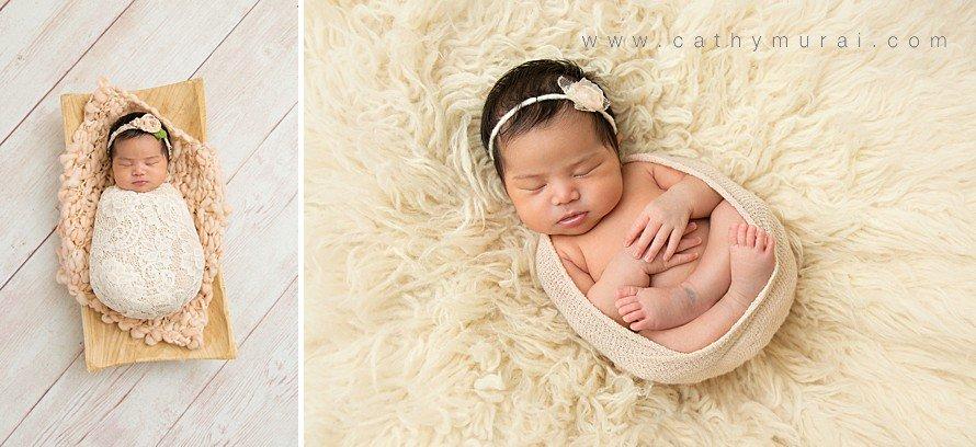 newborn photography swaddle